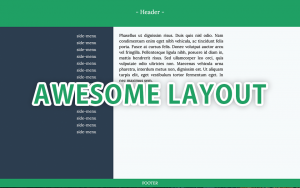 only-css-admin-layout-divide-left-right-sticky-footer-background-color